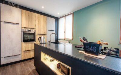 Rénovation d'une cuisine dans cet appartement de Guérande