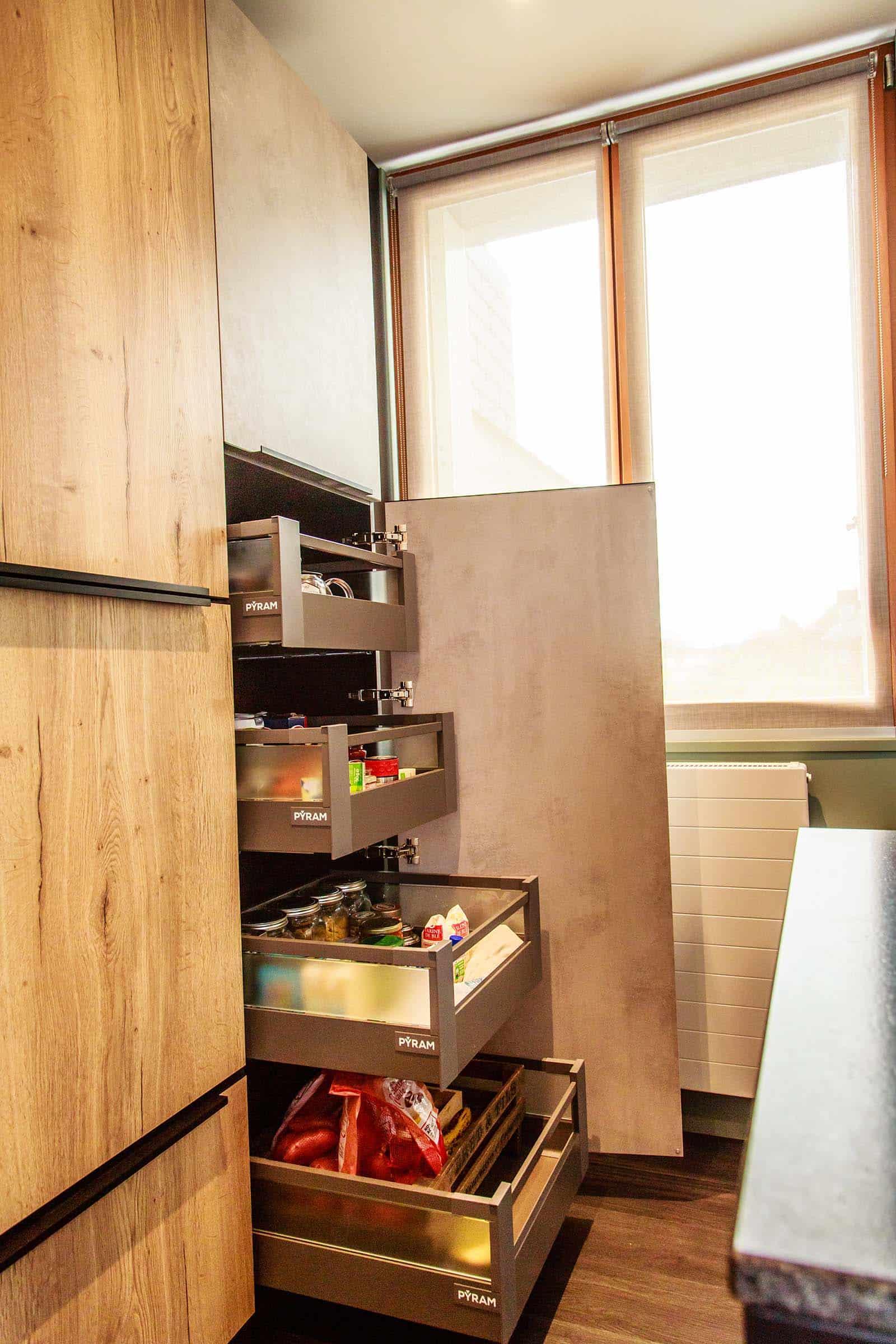 Artisan Cuisiniste La Baule Guerande Cuisine sur mesure Amenagement et agencement interieur 21 - INTRAMUROS ®